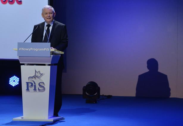 Wystąpienie Jarosława Kaczyńskiego podczas Kongresu Programowego PiS
