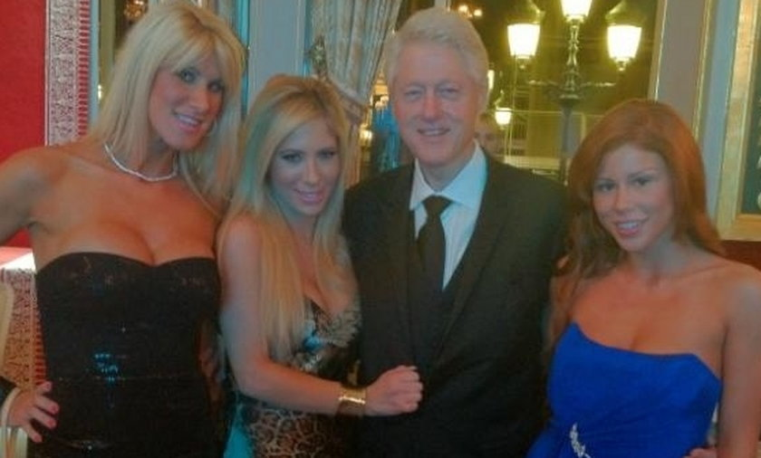 Clinton i gwiazdy porno