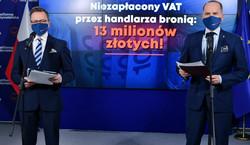 KO: Handlarz bronią nie odprowadził milionów złotych za respiratory