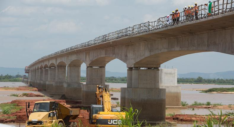 Second Niger Bridge has attained 46 per cent completion status. (Construction Review Online)