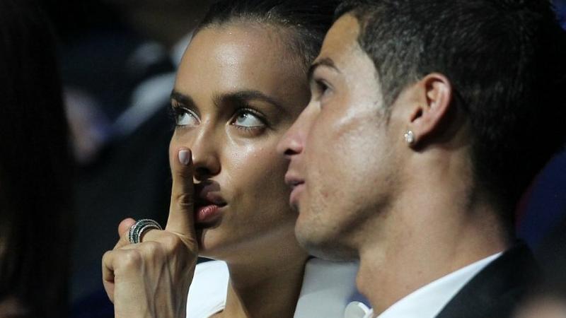 Irina Szejk i Cristiano Ronaldo