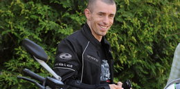 Piłkarz ekstraklasy na motorze