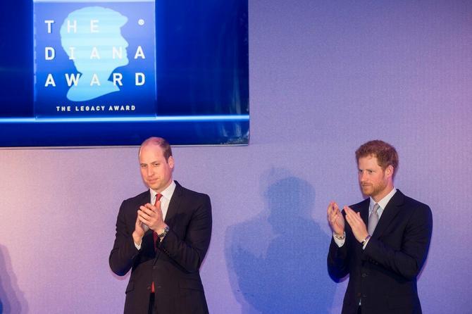 Nagrade koje nose Dajanino ime dodeljene su u maju ove godine u Londonu