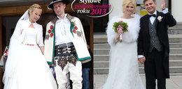 Najpiękniejsze suknie ślubne 2013