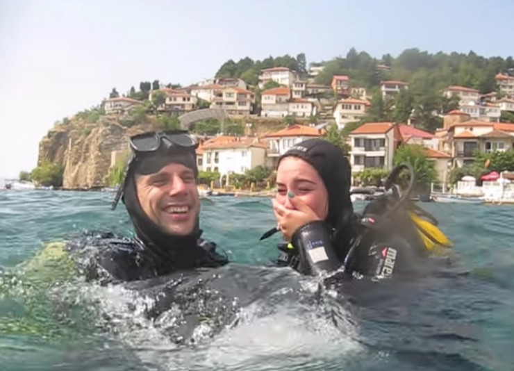 Makedonija Ohrid prosidba