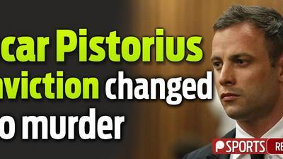 Oscar Pistorius conviction changed to murder