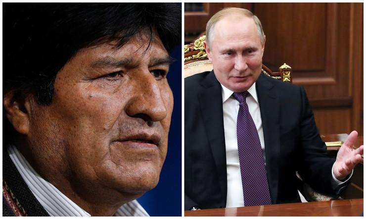 Vladimir Putin, Evo Morales