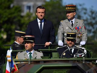 Annual Bastille Day military parade on the Champs-Elyses - Paris