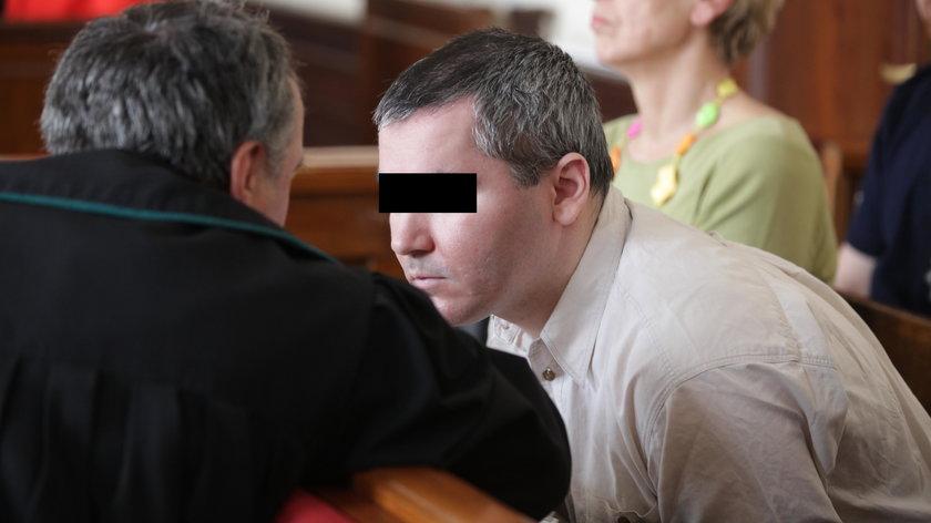 Samir S. podczas rozprawy
