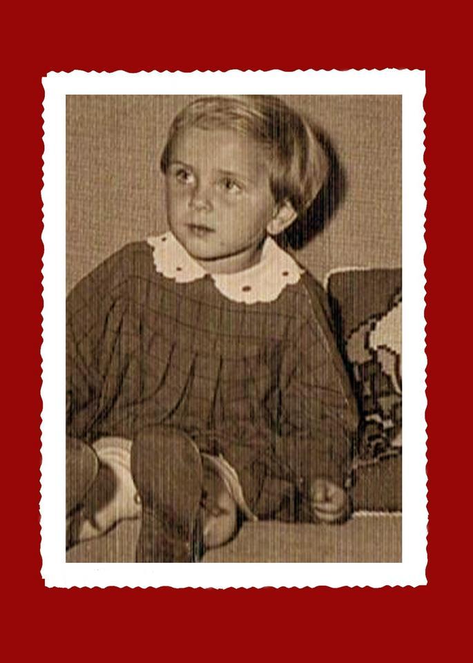 Beata Szydło jako dziecko