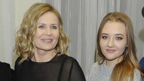 Wnuczka Grażyny Szapołowskiej daje muzyczny popis. Zrobi karierę w show-biznesie?