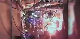 Bandyckie sceny w warszawskim klubie. Bitwa chuliganów