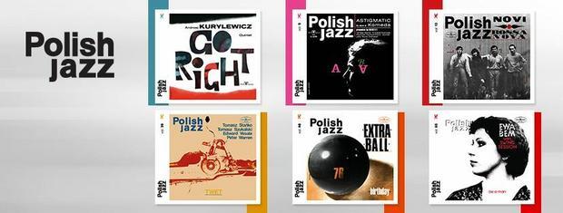 """Płyty z serii """"Polish Jazz"""""""