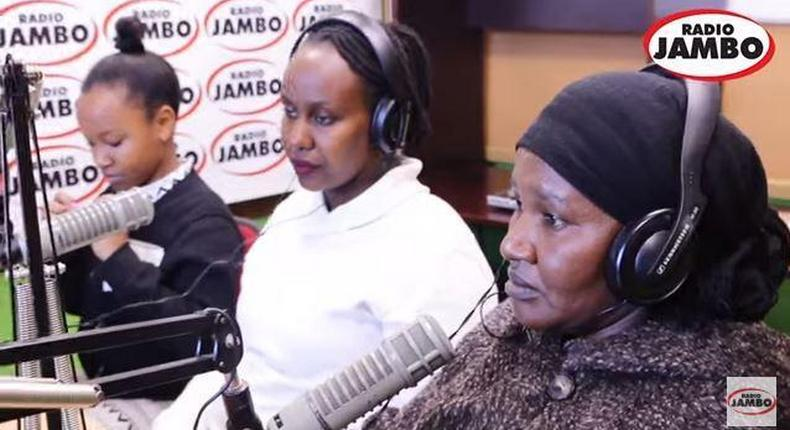 Wendy Waeni and her mother Magdalene Syombua
