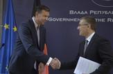 Štefan Majer i Nebojša Stefanović Tanjug Rade Prelić