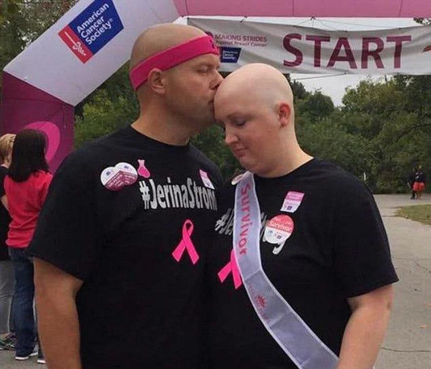 Jerina zmaga się z nowotworem piersi