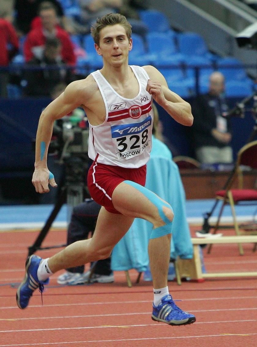 Wolski startował m.in. w halowych mistrzostwach świata w Moskwie w 2006 r.