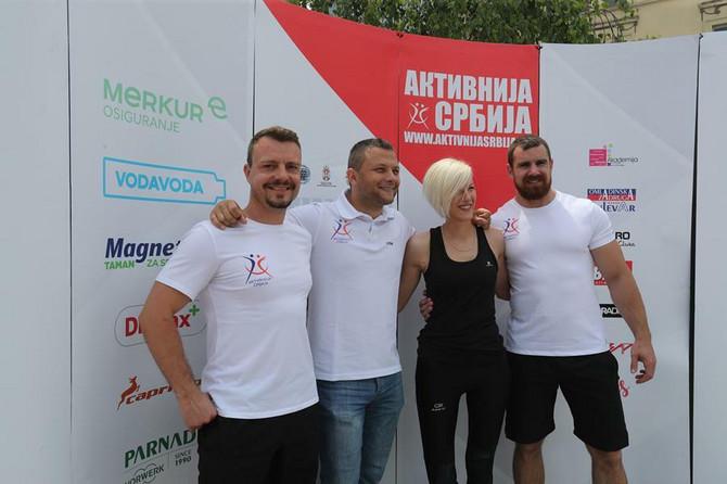 Sportsko-edukativni tim Aktivnije Srbije spreman za Beograđanke