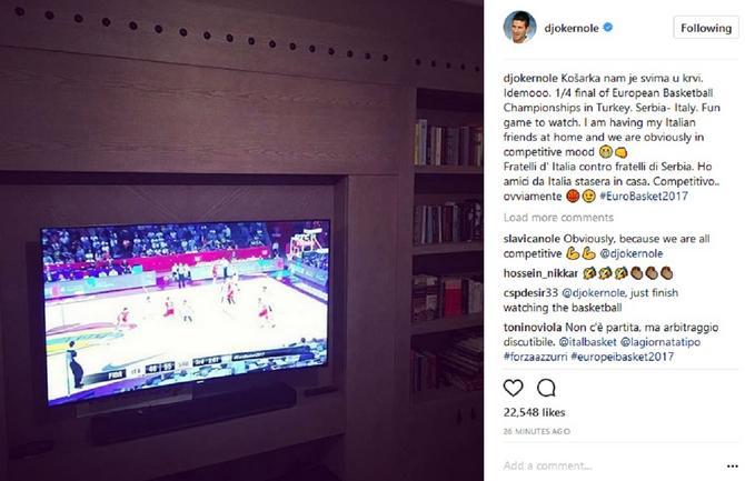 Novak Đoković uvek uz naše sportiste