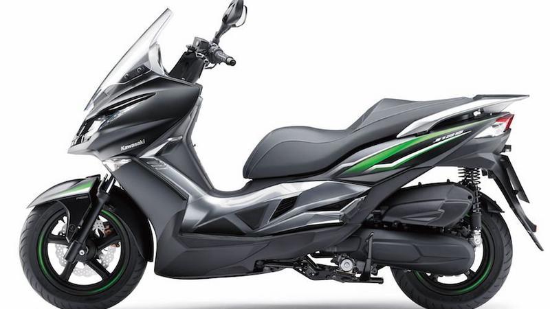 Nowy skuter Kawasaki J125