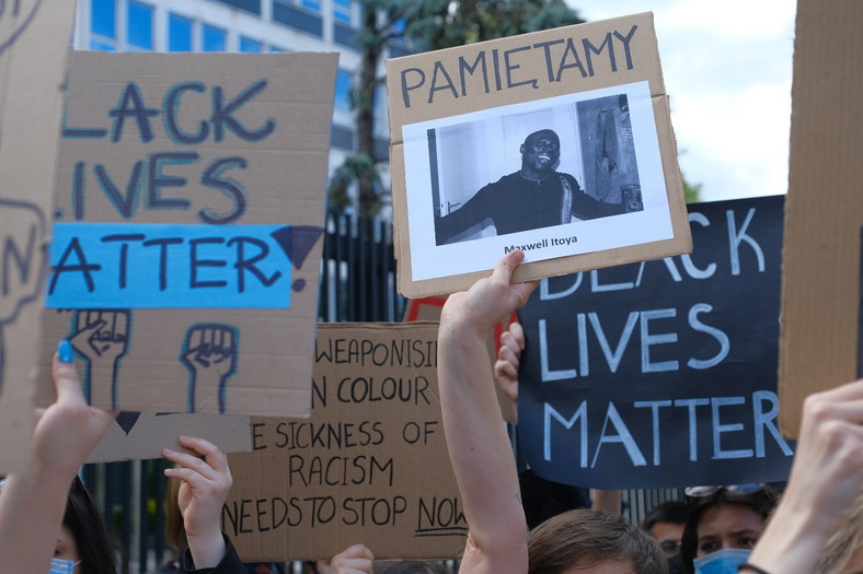 Demonstracja po śmierci George'a Floyda