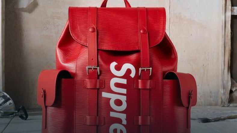 Plecak Supreme X Louis Vuitton