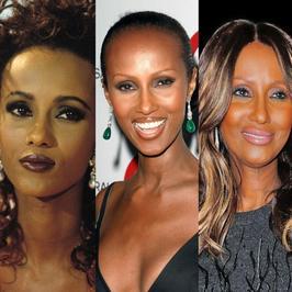 Iman - legendarna modelka ma już 61 lat. Jak się zmieniała w ostatnich latach?