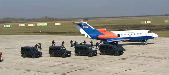 Oslobađanje aviona od terorista
