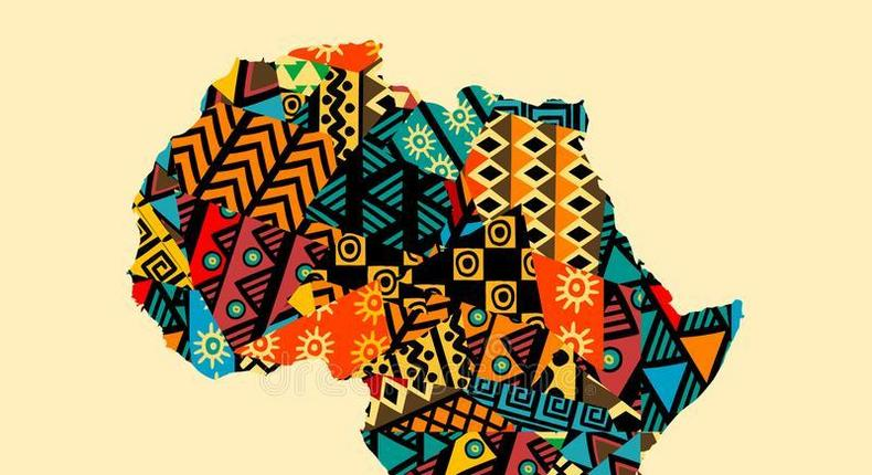 Image of the map of Africa