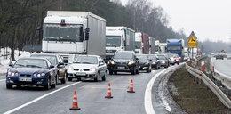 Paraliż na głównej drodze w Polsce! Korek na dziesiątki kilometrów