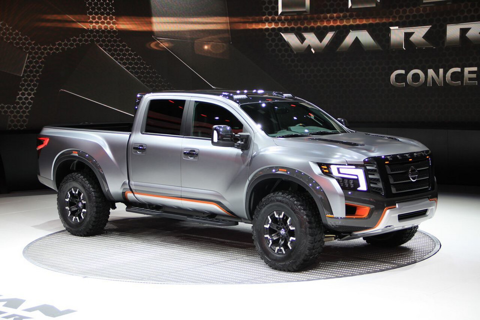 Detroit 2016 - Nissan Titan Warrior