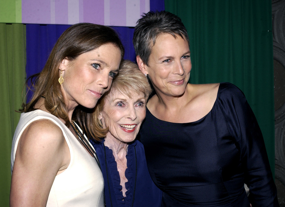 Kelly Leigh, Janet Leigh i Jamie Lee Curtis (2003 r.)