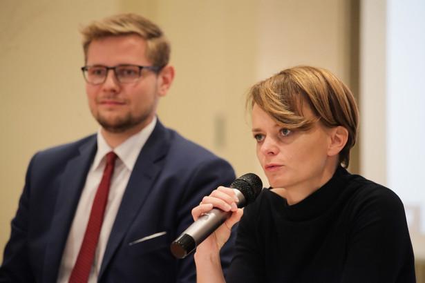 Minister przedsiębiorczości i technologii Jadwiga Emilewicz fot. PAP/Mateusz Marek