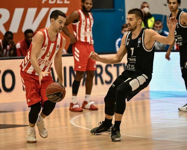 Detalj sa meča između KK Partizan i KK Crvena zvezda