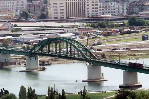 Savski most danas