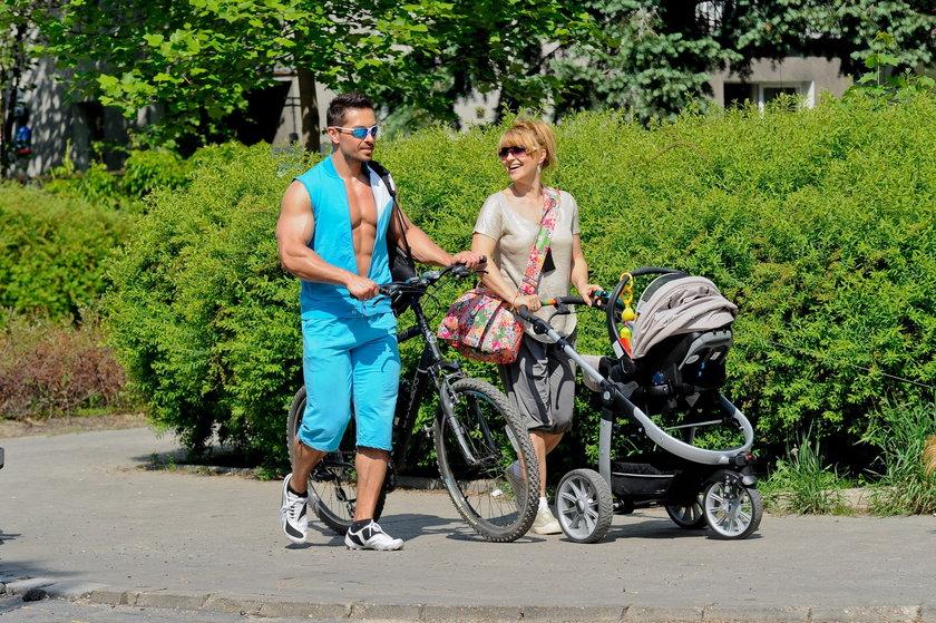 Marcin Łopucki i Katarzyna Skrzynecka