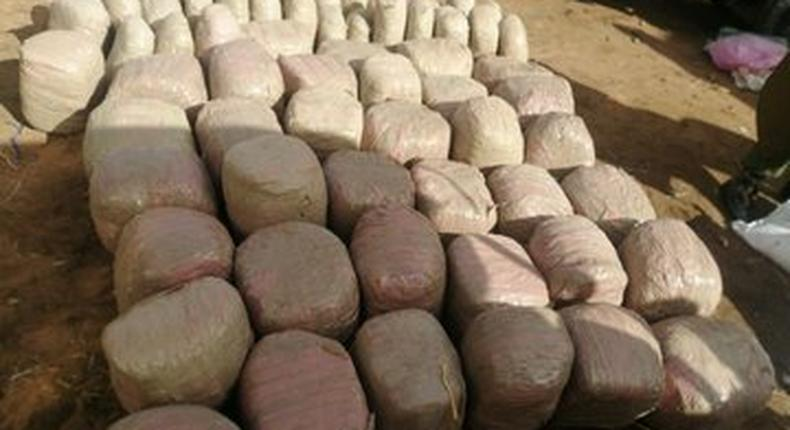 KDF Soldier & 3 DCI Officers Arrested Ferrying Drugs