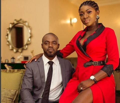 Yvonne Jegede and former husband, Abounce [WuzupNigeria]