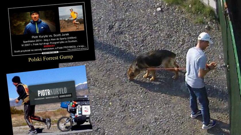 Ultramaratończyk wyjawił czemu porzucił psa na upale