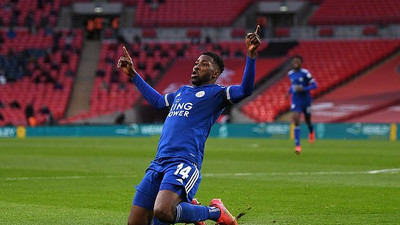 Kelechi Iheanacho gets his moment as his goal sends Leicester City to the FA Cup final