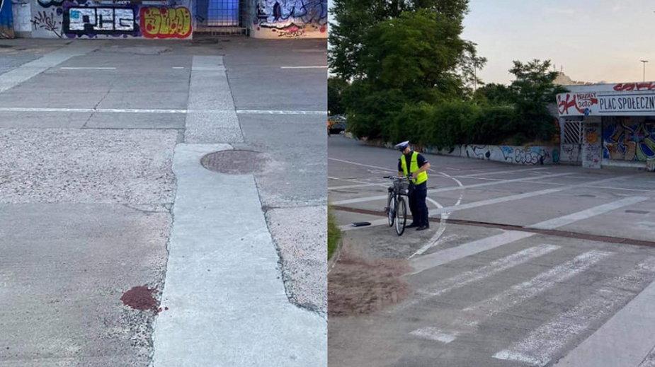 Wrocław: Wypadek rowerzystki. Jest w ciężkim stanie. Poszukiwania sprawcy