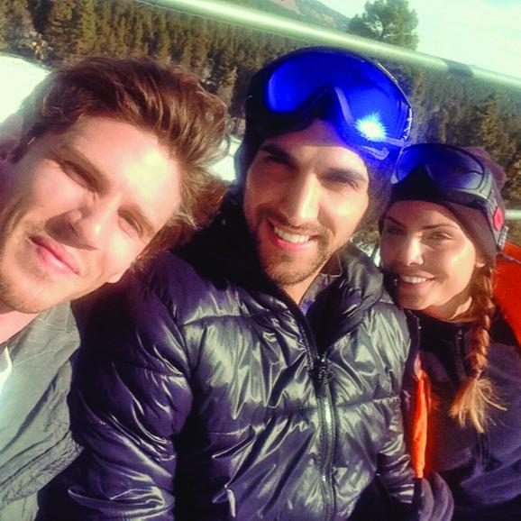 Nina i Dominik bili su zajedno na skijanju
