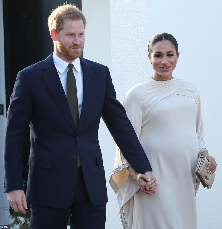 Duchess Of Sussex Meghan Markle Stuns In A Dior Dress On