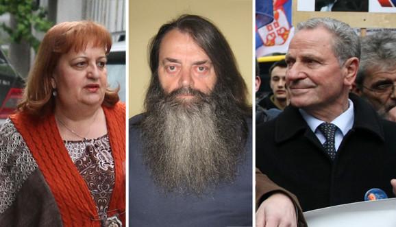 Vjerica Radeta, Jovo Ostojić i Petar Jojić