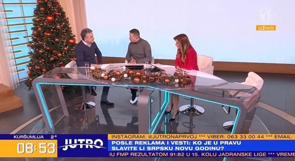 Srđan Đoković u jutarnjem programu kod Jovane Joksimović i Srđana Predojevića