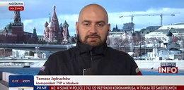 Kłopoty korespondenta TVP w Moskwie