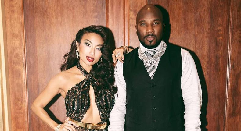 American rapper Jeezy and his wife Jeannie Mai [Instagram/TheJeannieMai]