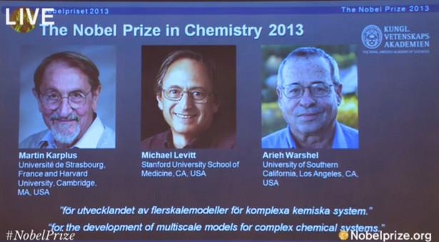 Ogłoszenie laureatów Nagrody Nobla z chemii