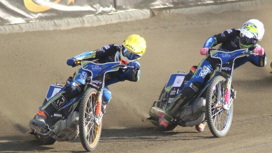 Mikkel Michelsen i Grigorij Łaguta