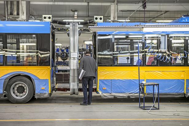Fabryka autobusów Solaris w Bolechowie